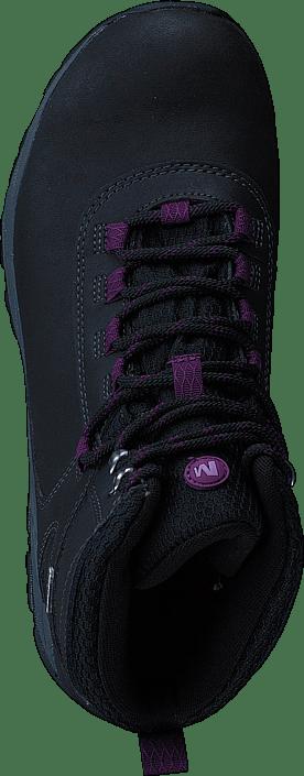 Merrell Vego Mid Leather WTPF Black/Gloxinia 9541277896