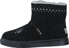 Suedey Low Boot Almost Black