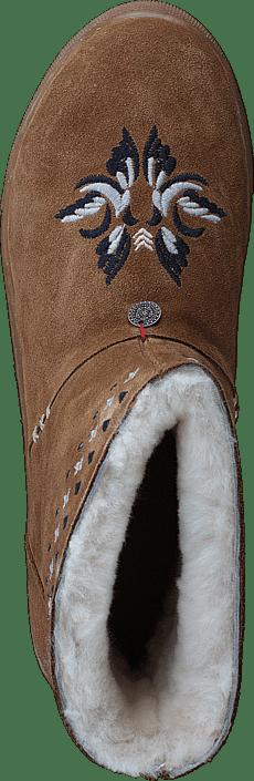 Odd Molly - Suedey Low Boot Desert