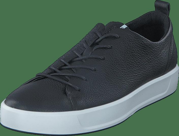 10eed154600f Buy Ecco 440504 Soft 8 Men s Black black Shoes Online