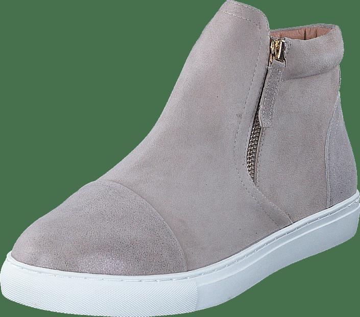 Dasia Daylily High Zip Beige gråa Skor Online