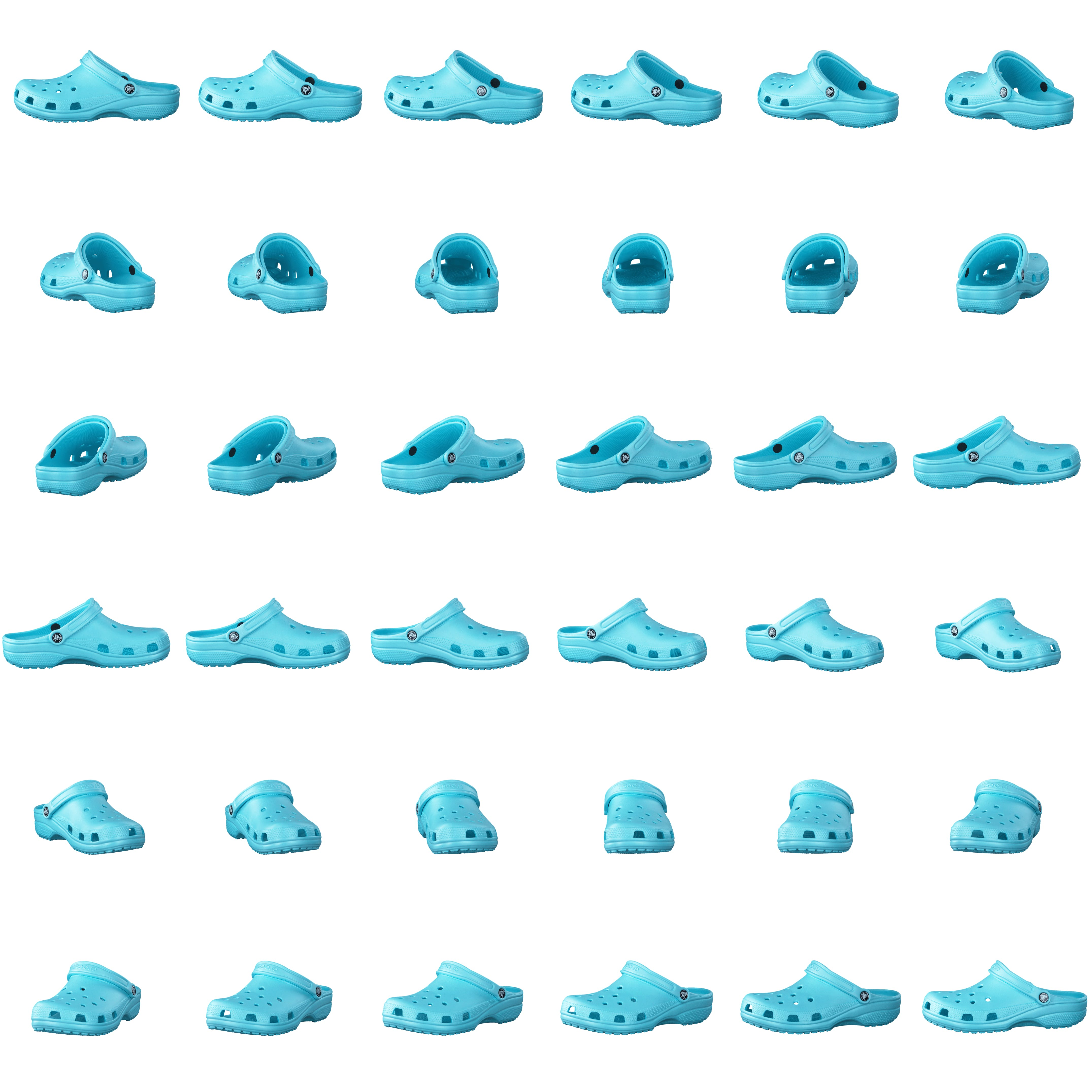 96d31f2fd Buy Crocs Classic Ice Blue turquoise Shoes Online