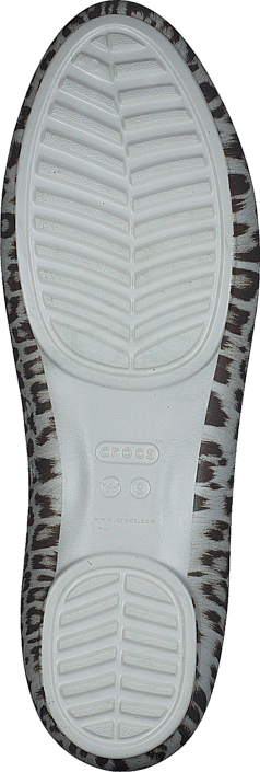 Crocs Lina Graphic Flat Leopard/Oyster
