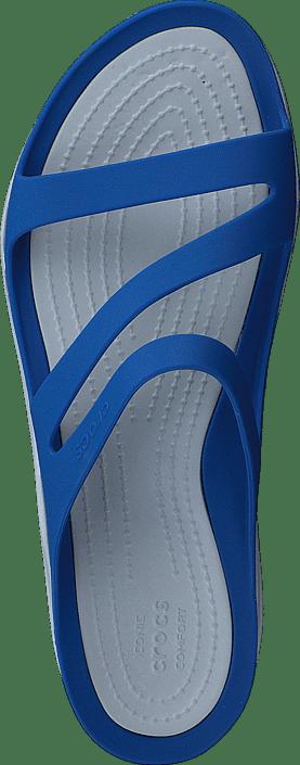 Crocs - Swiftwater Sandal W Blue Jean/Pearl White