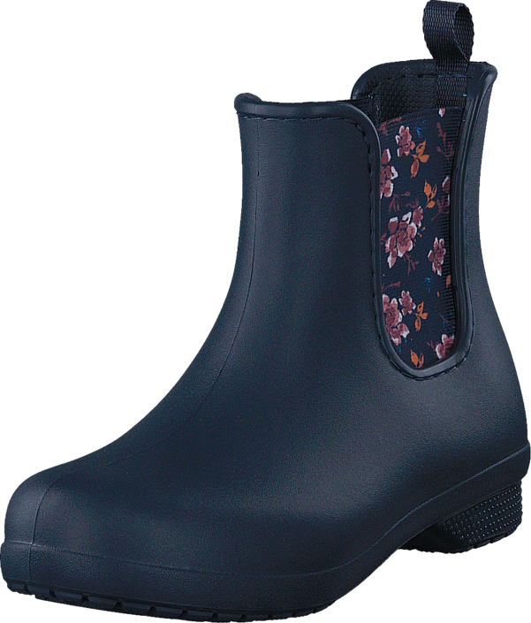 Crocs Freesail Chelsea Boot W Navy/Floral