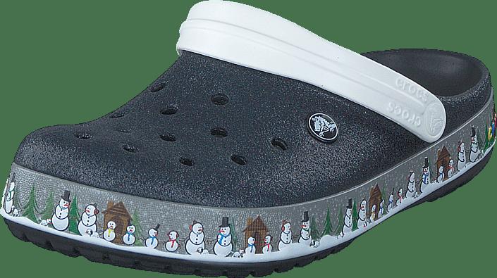 Crocs Crocband Holiday Clog svart gråa Skor Online