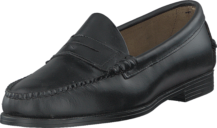 Sebago - Plaza Penny Black Leather