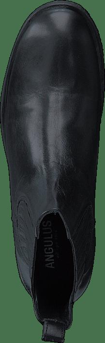 Angulus Boot W. Elastic Slip-on Design Black Scarpe Online