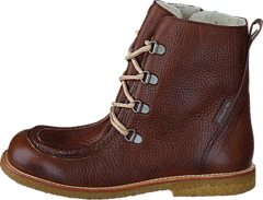 TEX-boot w. zipper and laces J 2509/1589 Red-brown