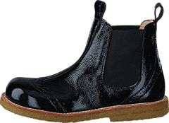 Chelsea boot stitched detail 1310/001 Black/Black