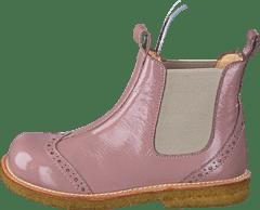 6ffda01bc2ee9c Angulus - Chelsea boot stitched detail 1387 010 Patent powder Beige