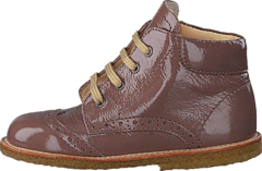 First steps lace-up boot 2332 Nougat