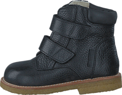 First Tex boot with velcro 2504/1652 Black/Black