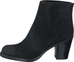 Luisa High Suede Black
