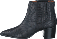 Lisabon low boots Black snake