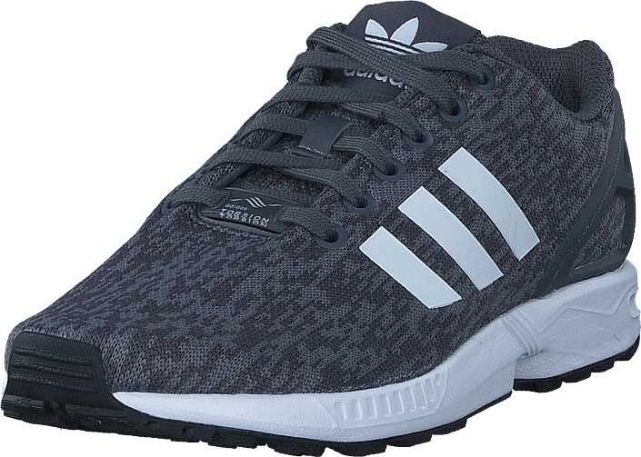 san francisco 48f57 c2bed Zx Flux Grey Five F17/Ftwr White/Core