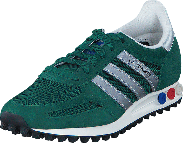 Buy Adidas Originals La Trainer Og Collegiate Green Silver Blue