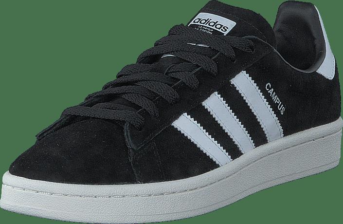 Online Adidas Sko Originals ftwr chalk 60008 Campus Sneakers Og 50 Sorte Køb Wh Sportsko Core White Black PwTSq4