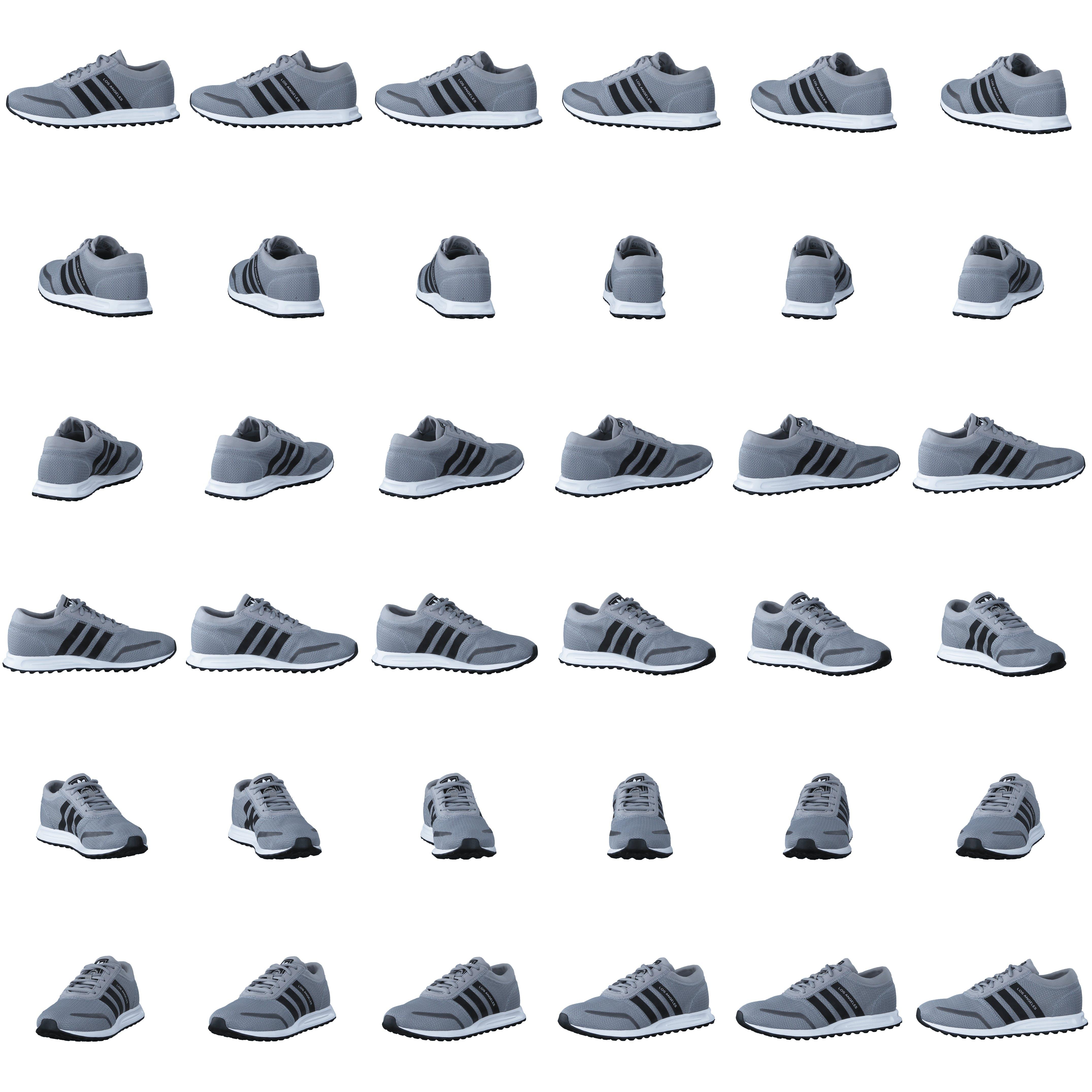 Køb adidas Originals Los Angeles J Mid Grey S14Core Black