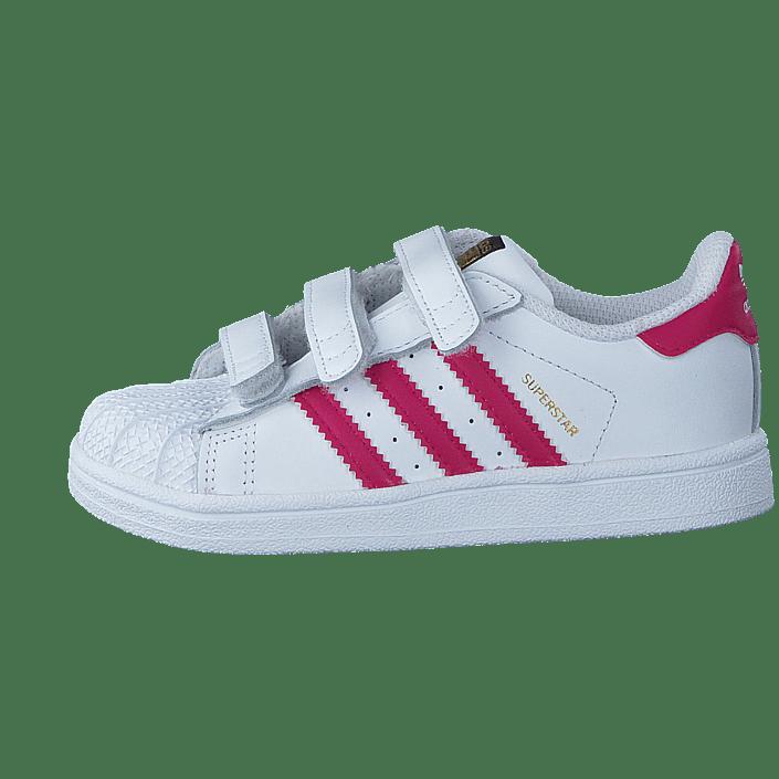 adidas Originals Baby Superstar CF I Sneaker, WhiteBold
