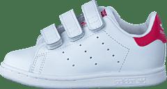 new product 3ab1c c904f adidas Originals - Stan Smith Cf I Ftwr White Ftwr White Bold Pin