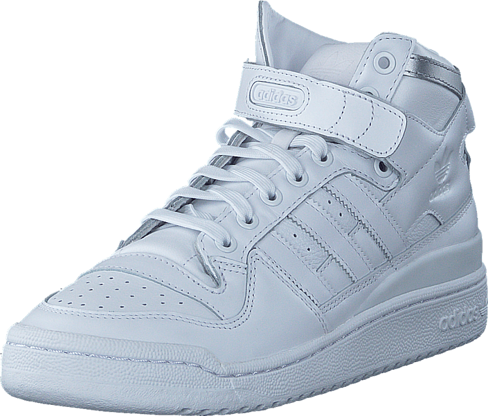 Kjøp silver Adidas Hvite Forum Mid Originals White Refined Sko Online White M Sneakers ftwr Ftwr xFpwSq4U