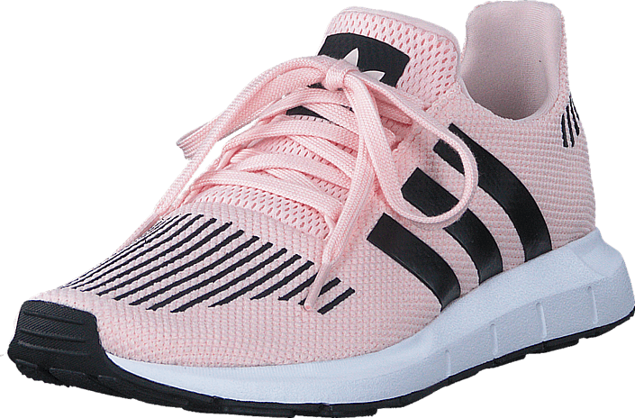 Buy adidas Originals Swift Run J Icey Pink F17 Core Black Ftwr grey ... a3407605faf00