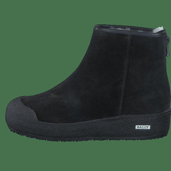 Buy Bally Guard II M Crosta Waterproof Black black Shoes Online ... 7d338abf5ae48