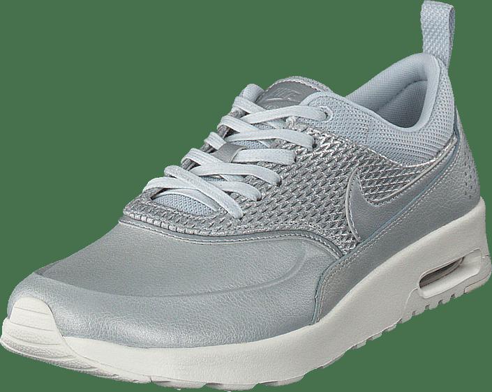 Nike - Wmns Air Max Thea Prm Lea Mtlc Platinum/Pure Platinum