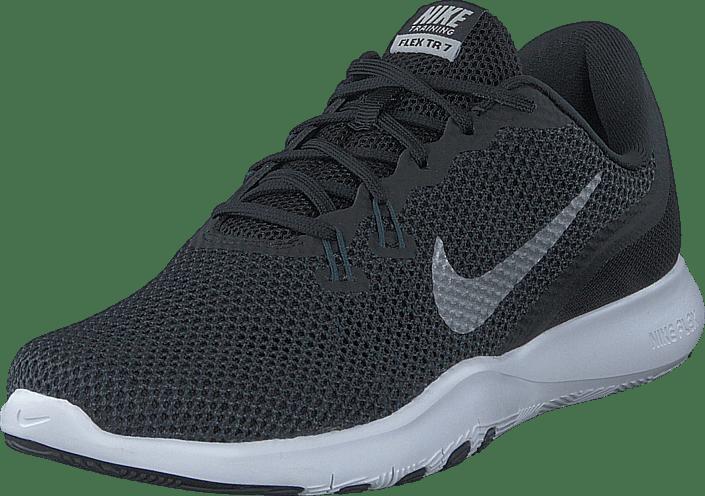 Nike Silver Kjøp Online Trainer 7 W Flex Sneakers mtlc Black anthracite Sorte Sko RdppqOxw