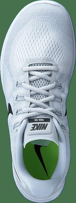 Kjøp Rn 2017 pure Nike Free Blå Sneakers Platinum black Online Sko White Wmns TwqpTrt