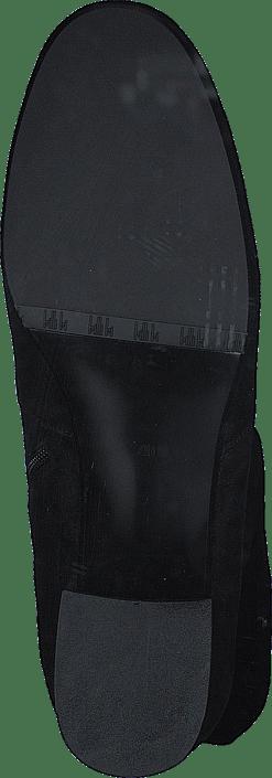Billi Bi - 500 Black Suede Stretch Black