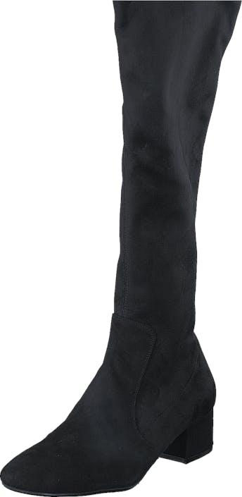 Billi Bi 500 Black Suede Stretch Black, Skor, Stövlar & Stövletter, Stövlar, Svart, Dam, 39