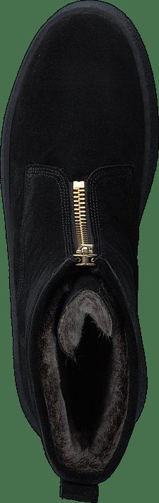 Billi Bi - 502 Black Suede Gold Black Sole Black