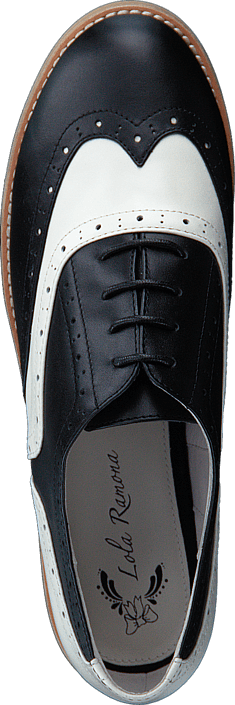 Lola Ramona Cecilia Black-creme Schuhe Kaufen Online