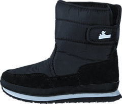 Kids Nylon/Suede Black