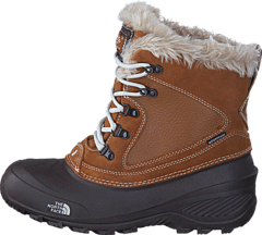 The North Face - Youth Shellista Extreme Brown  Moonlight Ivory 5caf789243