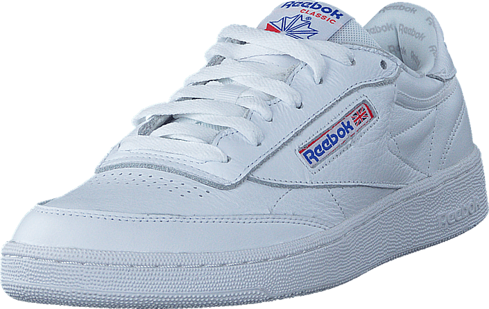 8d988ab1096b Buy Reebok Classic Club C 85 So White Lgh Solid Grey Vital Blu white ...