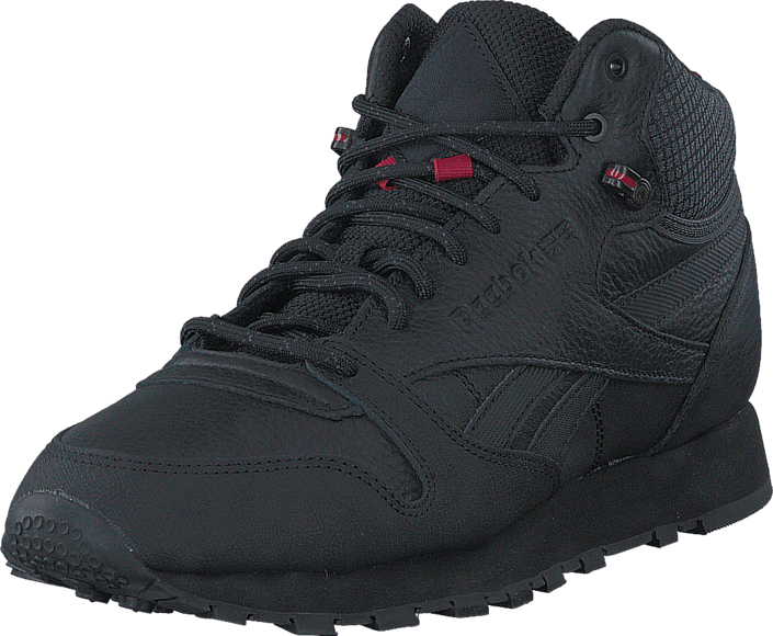 new concept 74833 04765 Acheter Reebok Classic Cl Leather Mid Twd Black Excellent Red .