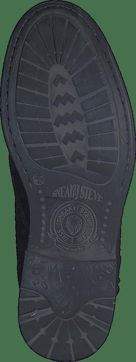 Sko Kjøp Online Steve Sorte Sneaky Black Boots Fordham CF1Cq