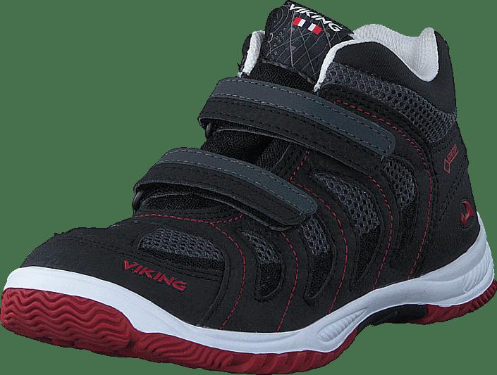 Cascade II Mid Black/Red