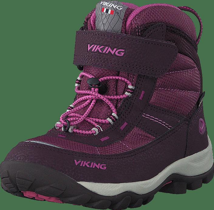 Viking - Sludd El/Vel GTX Aubergine/Plum