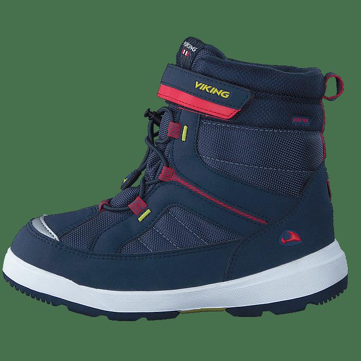 Urban Snowboarder Vinterstøvler Med Velcro Blå ECCO