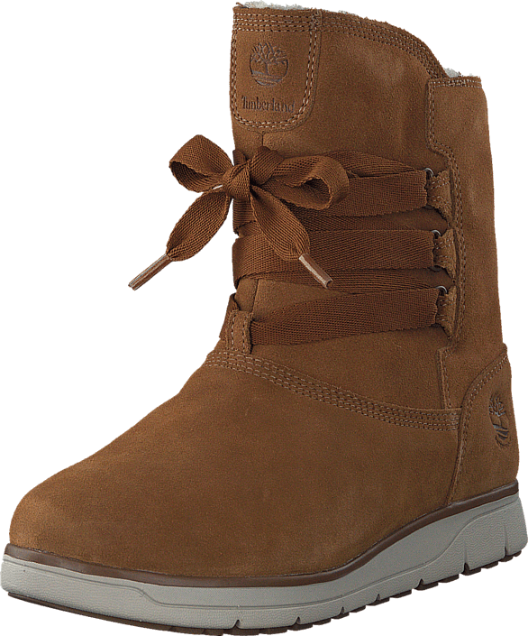 Leighland Pull On WP Trapper Tan Silk Suede
