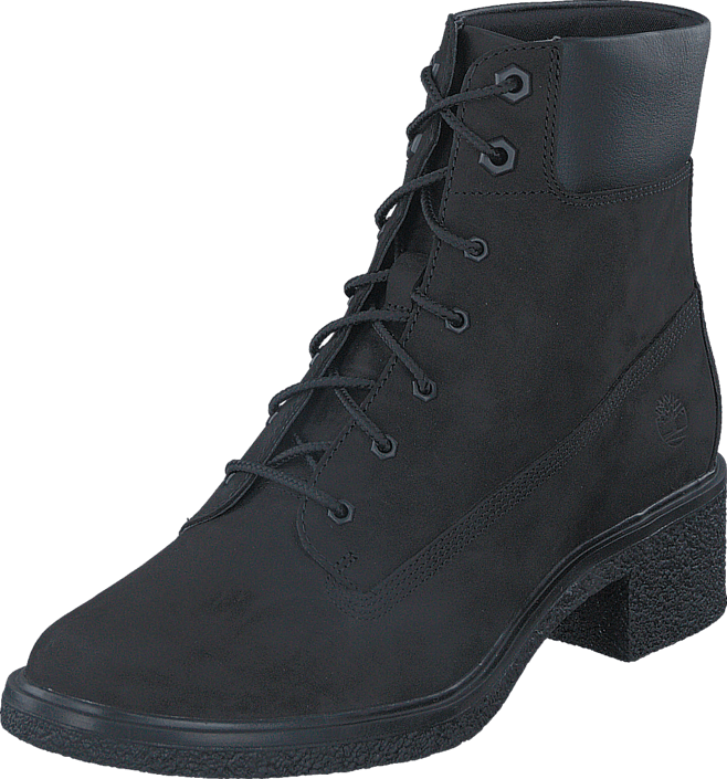 Sko Kjøp Black Highboots Brinda Timberland Lace Up 6in Nubuck Online Sorte xqP8BTax