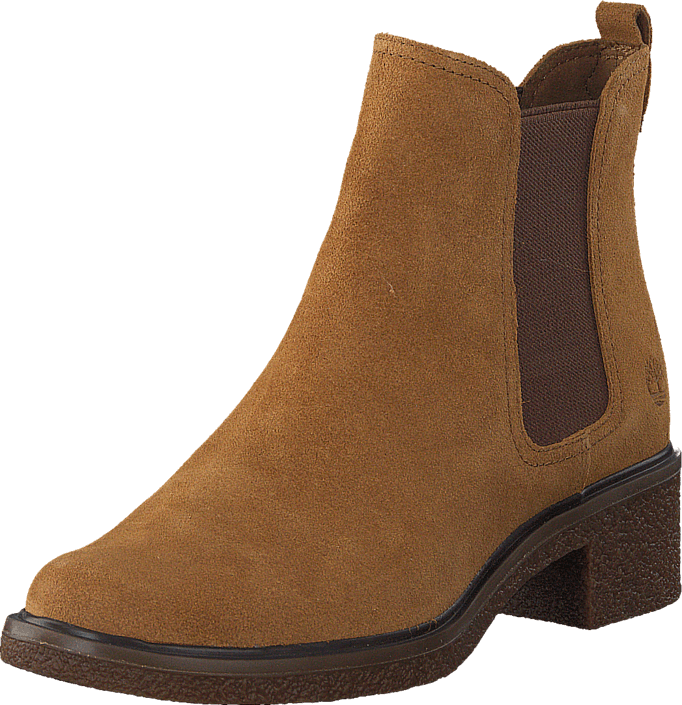 Timberland - Brinda Double Gore Chelsea Trapper Tan Suede