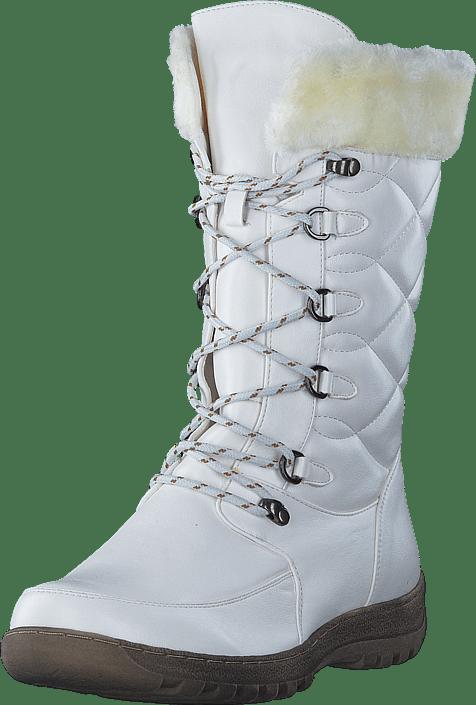 Sko Støvler Og 64 Hinckley Boots Online Wildflower Hvide 60016 White Køb aRIqgw