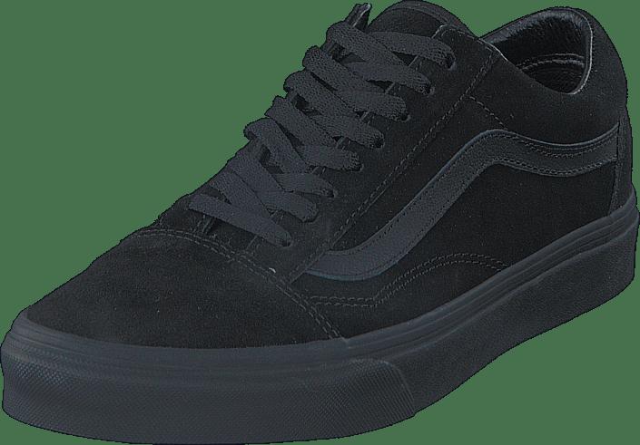 UA Old Skool (Suede) Black/Black/Black
