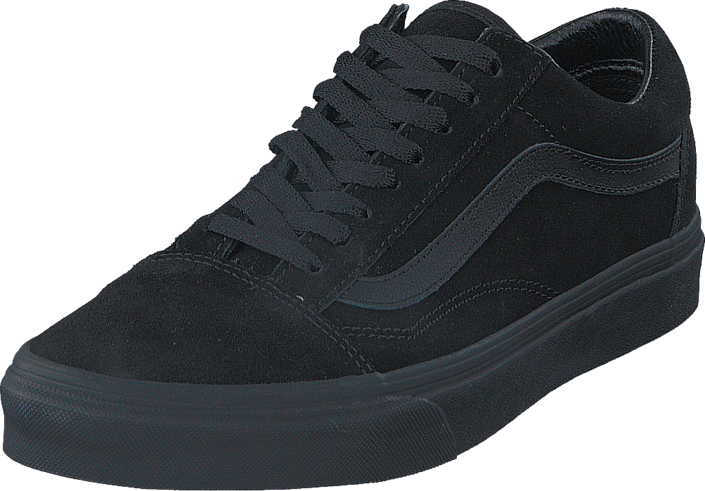 UA Old Skool (Suede) BlackBlackBlack