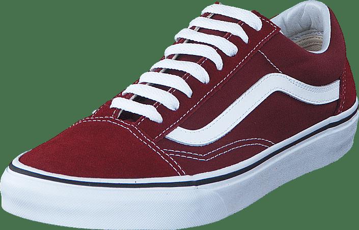 Vans - UA Old Skool Madder Brown/True White